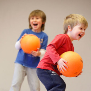 Sportball focuses on building children's motor, social and sport skills in a positive, non-competitive environment.